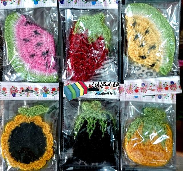 تجارت اسکاج طرح میوه در رنگ های متنوع