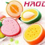 قیمت عرضه بهترین اسکاج طرح میوه در رنگ های متنوع