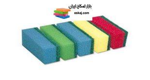 بازار صادرات و تولید اسکاج اسفنجی در بسته بندی